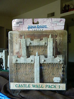 Mage Knight Castle. Wall Pack 1. complete D&D mini RPG terrain pathfinder (Mage Knight Castle)