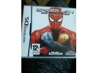 Nintendo ds game. .spider man