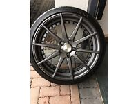 Judd T311 20'' wheels and tyres for BMW F10