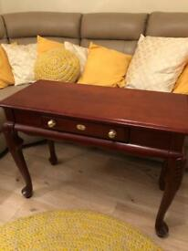 Lovely old French style console table