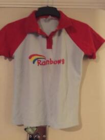 Rainbows tshirts size large