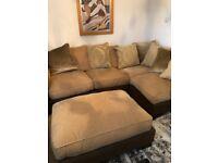 Luxury, as new, corner sofa. Quick sale