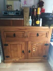Solid Pine Dining Room Sideboard