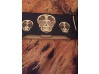 Large skull purse