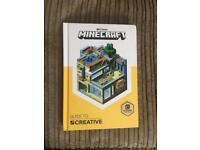 Brand new Minecraft creative book