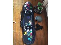 "Burton ""blunt"" snowboard & bindings L@@K"