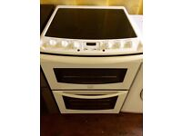 Electrolux 60cm double electric cooker