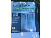 Shower Quadrant Doors - Wickes