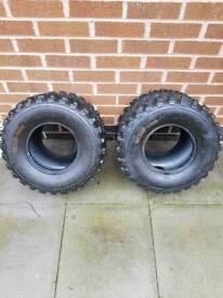 Quad tyres 20x11-9