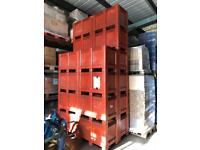 X 17 stackable storage pallet boxes