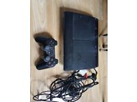 Ps3 and 8 games.