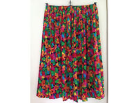 Various Pleated Skirts With Elasticated Waist - Size 12