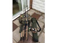 Various Course Fishing Rods, Reels, Luggage for Sale