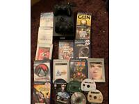 Sony ps2 black bundle with games