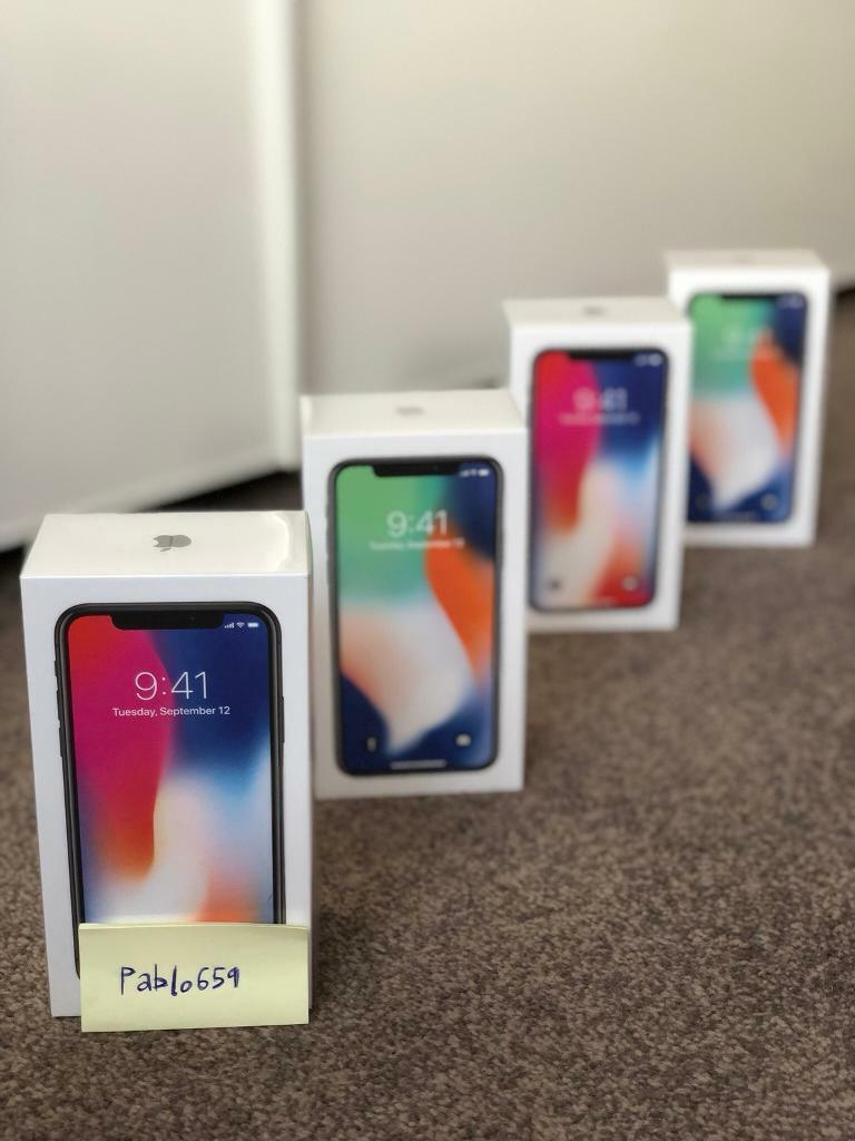 iPhone X - Space Grey / Silver - 64GB - Brand New - Unlocked