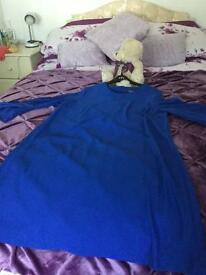 Blue dress 16 new