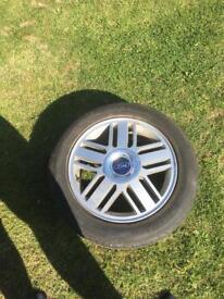 Alloys / spare tyres