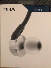 RHA headphones-brand new