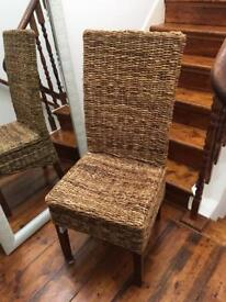 High quality wicker dining or desk/office chair