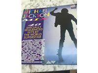 """Michael Jackson """"The Michael Jackson Mix"""" Vinyl Record LP Double vinyl."""
