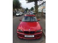 BMW E46 330d Individual Imola Red *Sunroof*