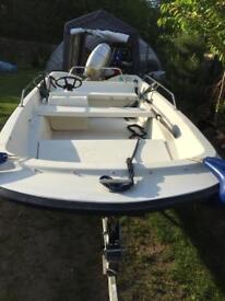 Orkney dory 424 50hp Honda outboard