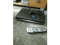 SKY+ HD box with remote