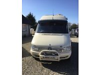 Mercedes Sprinter SC Sporthome Professional camper van conversion Low mileage with LRG m/c Garage