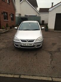 Vauxhall corsa 1.2 sxi Cdti 2005 £30 road tax per year