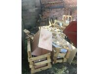 FREE wood pallets for building/storage/firewood