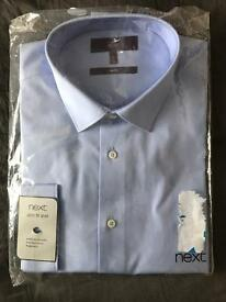 NEXT formal shirt slim fit size 17
