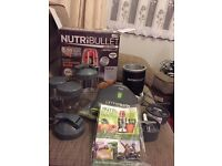 Nutribullet complete with extras