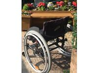 Wheelchair self propelled. Adult.