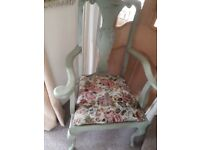 CARVER CHAIR VINTAGE COTTAGE STYLE