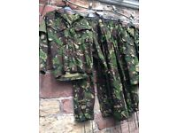 Army combat adult fancy dress