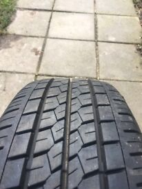 Tyre 215/65/15c 35pounds!!!!!