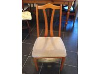 5 dining chairs in great condition