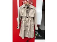 Ted Baker trench coat size 2 or 10