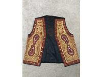 Hand Embroidered and Embellished Waistcoat with Mirror-work