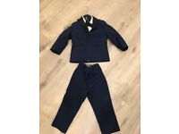 Moonsoon boys suit and shoes