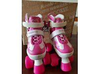 New Pulse adjustable roller skates size 8-11