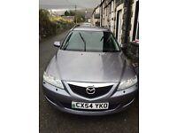 Mazda 6 ziguara 2.3 petrol silver estate