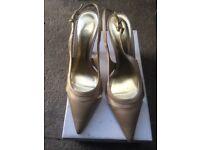 GOLD PARTY / EVENING SHOES