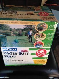 Hozelock water barrell pump