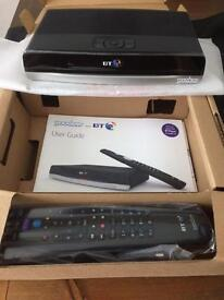 Brand new BT Youview +HD Recorder -500 Gb