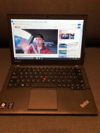 "ThinkPad Lenovo IBM X240 i5 4GB 12.5"" laptop"