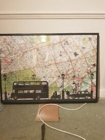 IKEA wall hanging london map (FREE!)