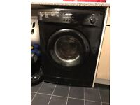 Bush black washing machine - spares or repairs