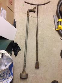 """3/4"""" stand pipe and key"""