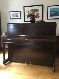 Mahogany upright piano - £500 or best offer